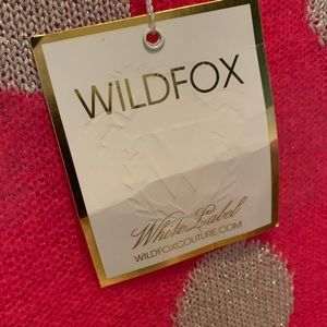 Wildfox White Label Couture, nwt. Sz S, darling!!
